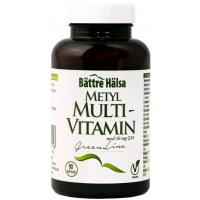 Metyl Multivitamin, 90 kaps